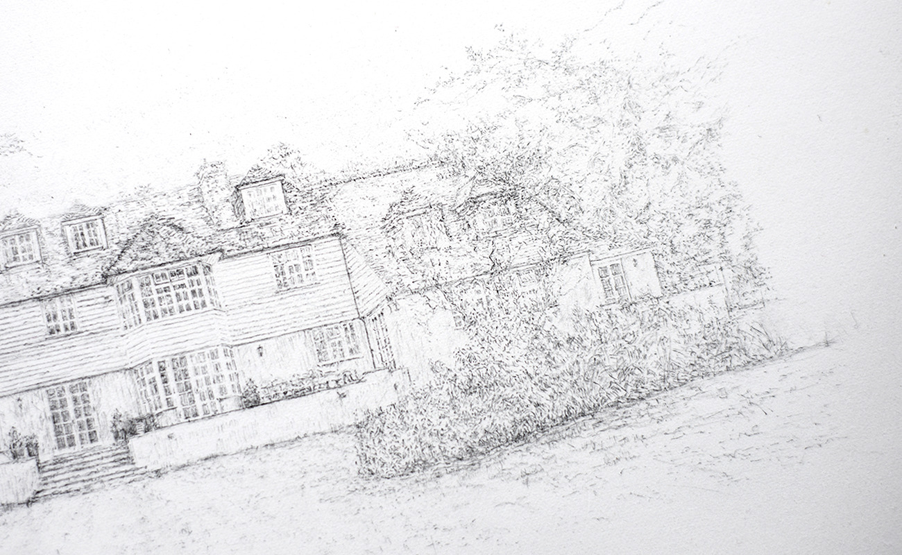 Liz-mellan-pencil-ink-commissions-little-boldre-house-5